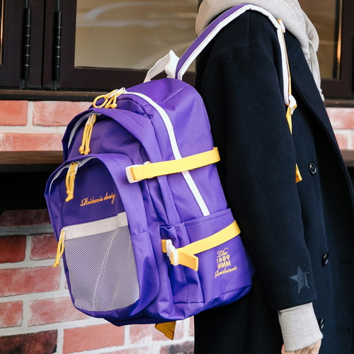 [창고개방]OH OOPS BACKPACK (PURPLE/YELLOW)