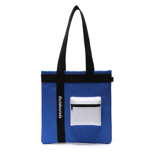 [창고개방]3D POCKET SHOULDER BAG (BLUE)